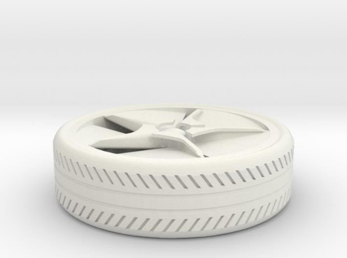 wheel for a miniature BM car 3d printed