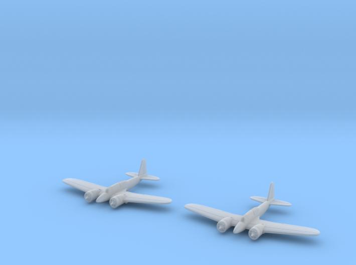 1/285 Curtiss A-18 (x2) 3d printed