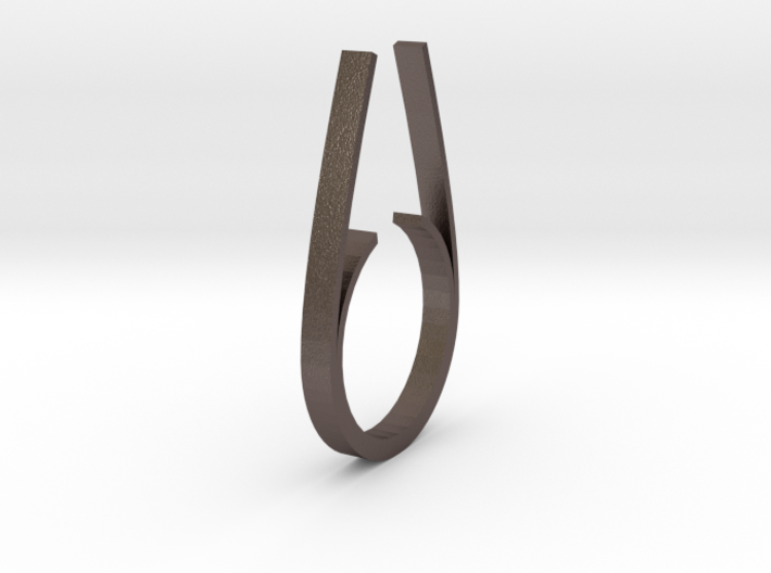 Chalcosoma Ring (17mm) 3d printed