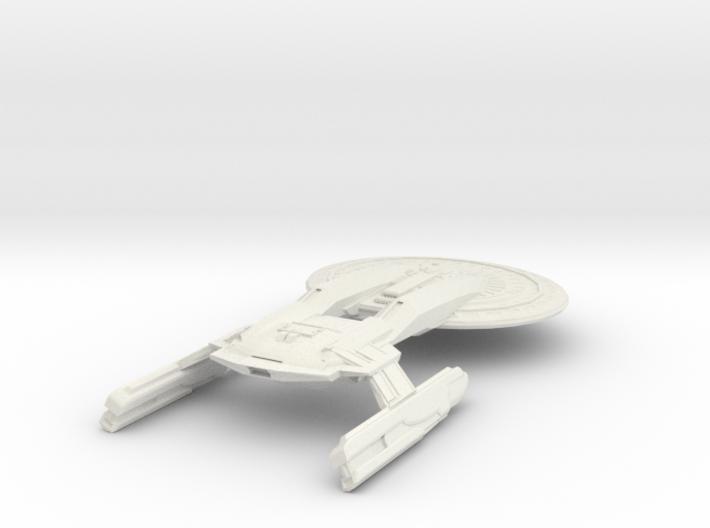 Texas Class Battleship 3d printed