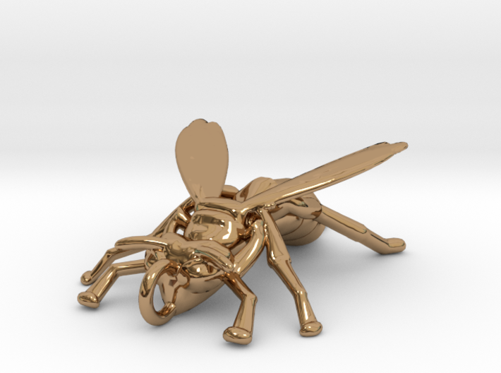 Yellow Jacket Pendant 3d printed