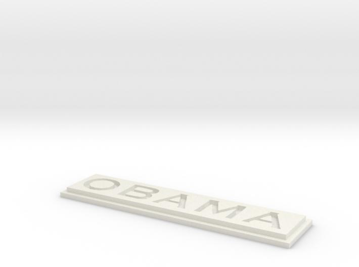 Obama 3d printed