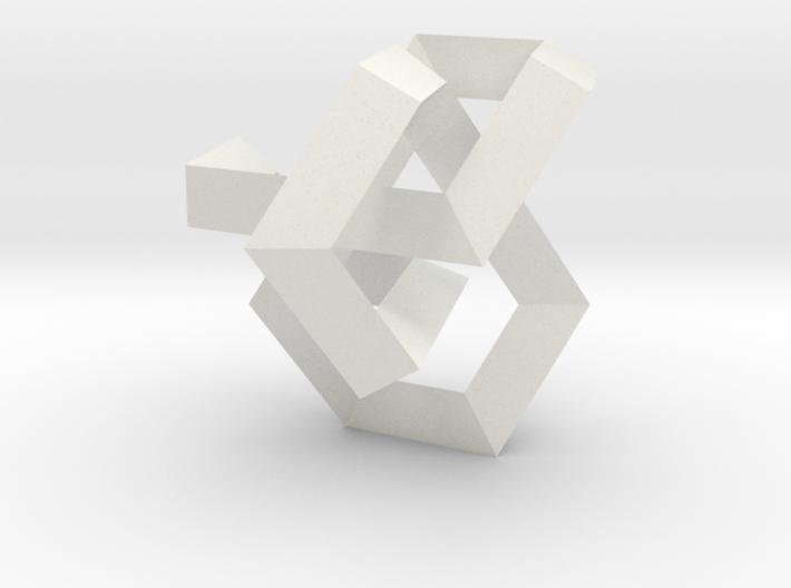 Balancing Act I (Small) 3d printed