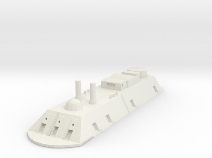 USS Essex 1/700 3d printed