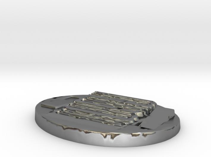 Unique 3D Printed Pendant 3d printed