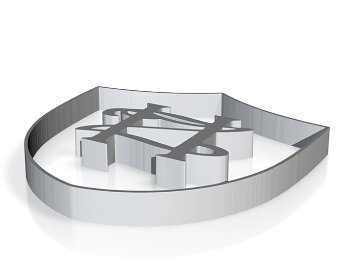 HZ Shield 3d printed