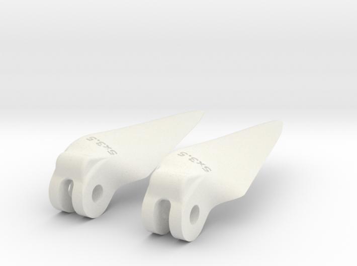 printedprop fold 5x3.5 3d printed