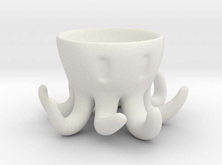 Octopus Egg Holder 3d printed