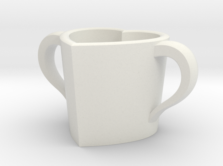 Love cup actual size 3d printed