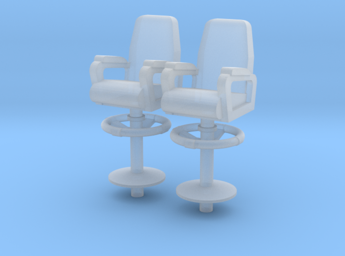 1:96 Captain/XO Navy Chair - Bridge/Wing 3d printed