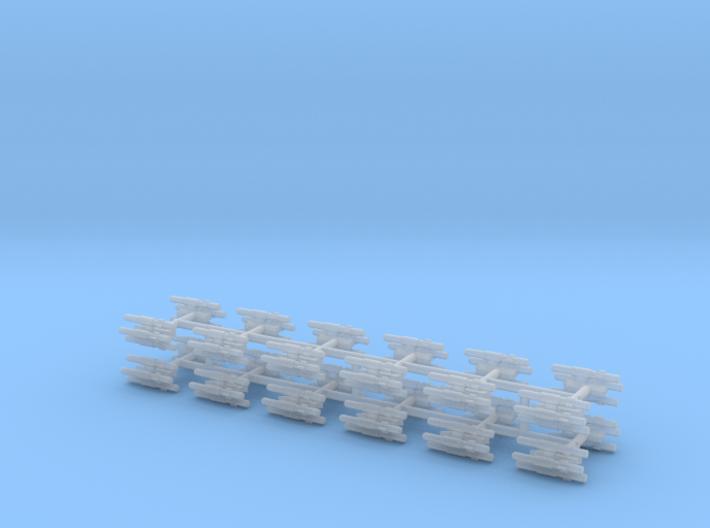 1/700 BLU-107 (Multiple Ejector Rack) (x24) 3d printed