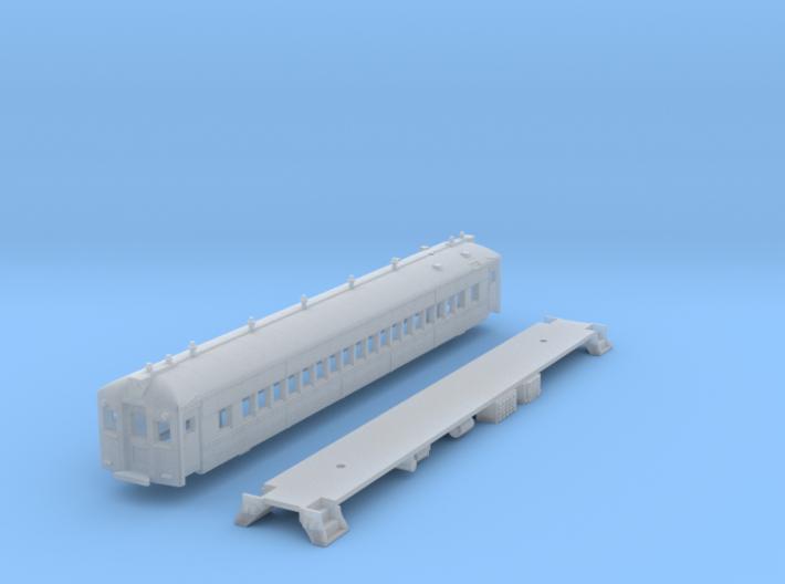 N Scale RDG MU 'Blueliner' Coach NO A/C 3d printed