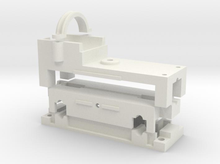 16.5mm gauge 24mm wheelbase chassis block 3d printed