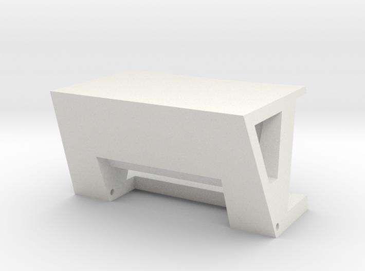 FrontClampBody 3d printed
