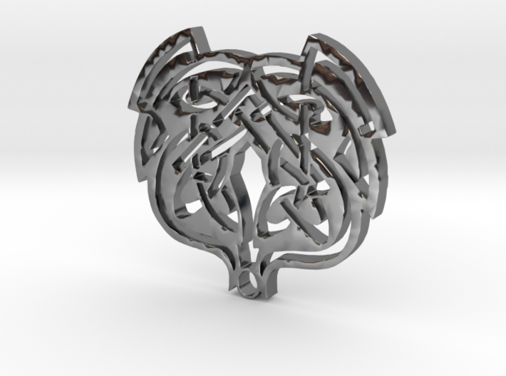 WhiteHawk Tribal Necklace 3d printed