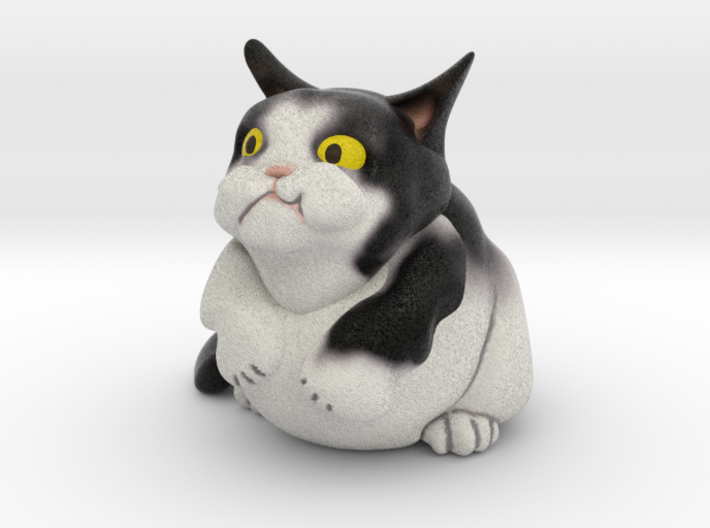 Siamese Snowshoe Cat 1 3d printed