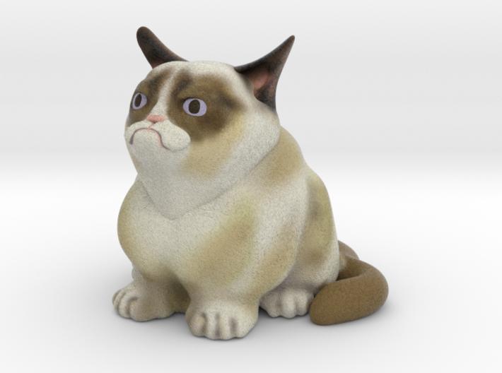 Grumpy Cat V1 3d printed
