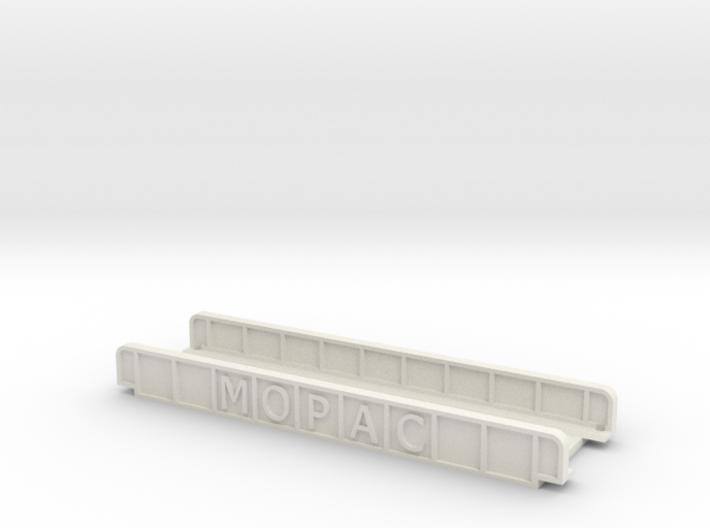 MOPAC STRAIGHT 110mm SINGLE TRACK VIADUCT 3d printed
