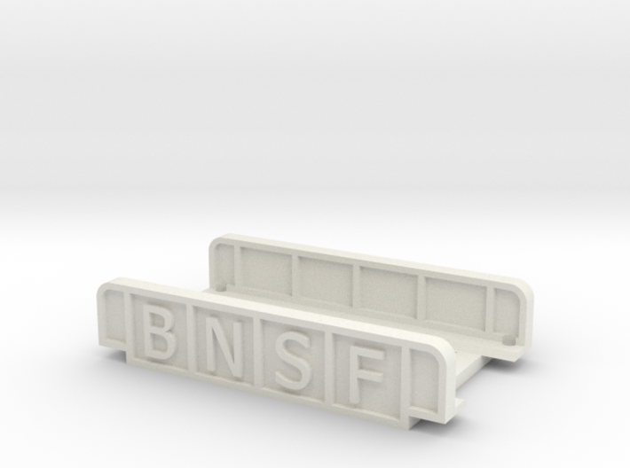 BNSF 55mm SINGLE TRACK 3d printed
