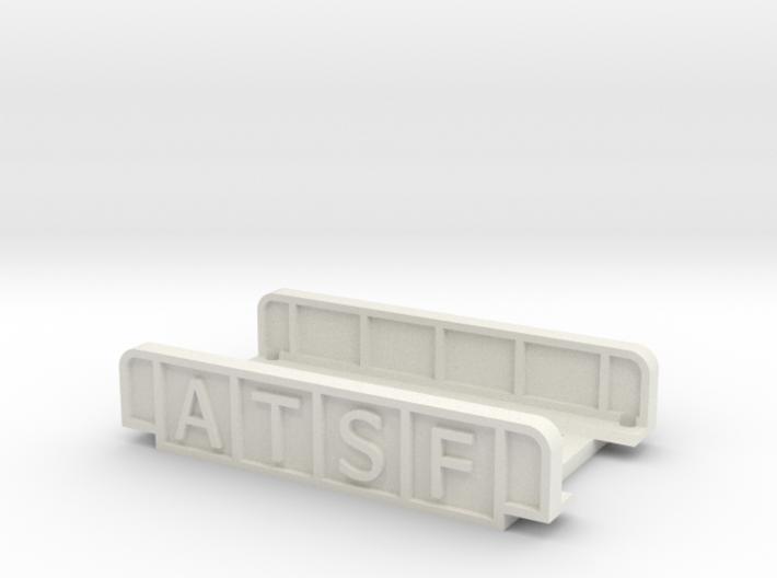 ATSF 55mm SINGLE TRACK 3d printed