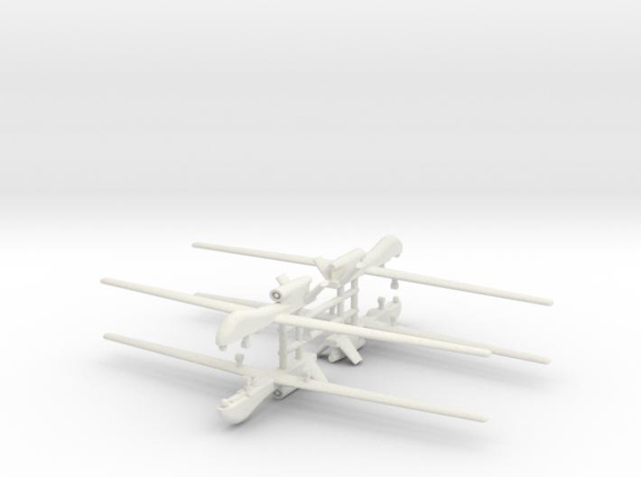 1/285 RQ-4 Global Hawk (x4) 3d printed