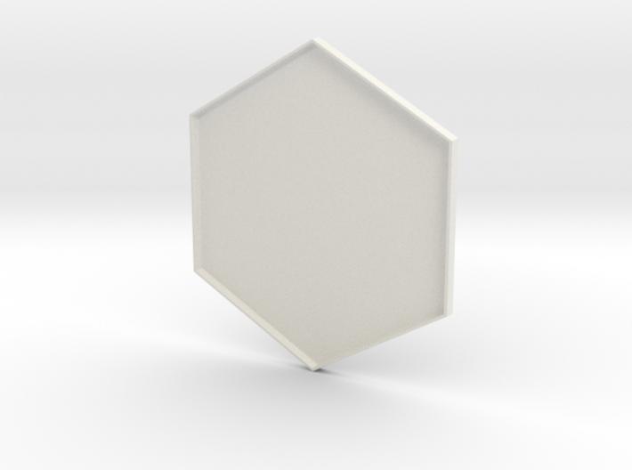 Hex Holder Lid 3d printed