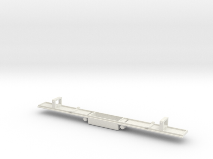 Baldwin DT6-6-2000 Dummy Chassis N Scale 1:160 3d printed