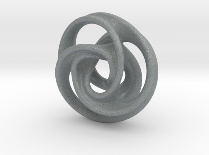 Tri Arm Torus small 3d printed