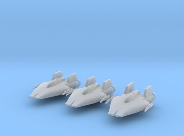Ay-wing 1/270 3d printed