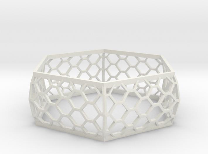 Hexagon Bracelet 3d printed