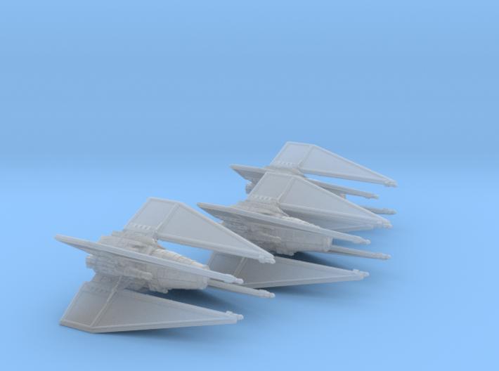 TIE Spectre Wing 1/270 3d printed
