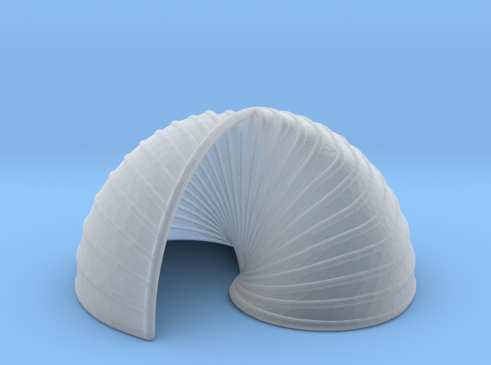 Yin Yang Shell 3d printed
