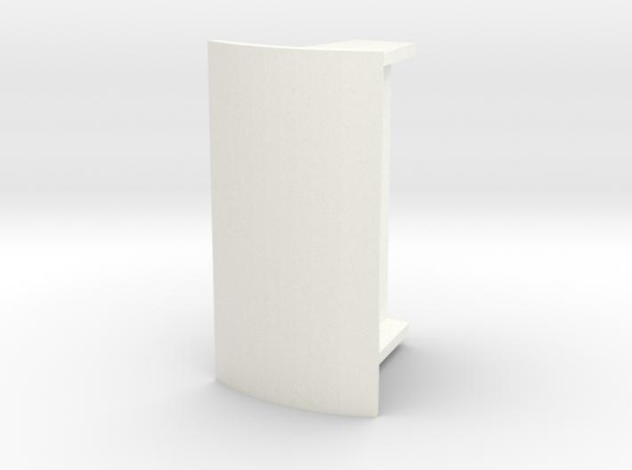 Abri 87 Enkel Rond Dak 3d printed