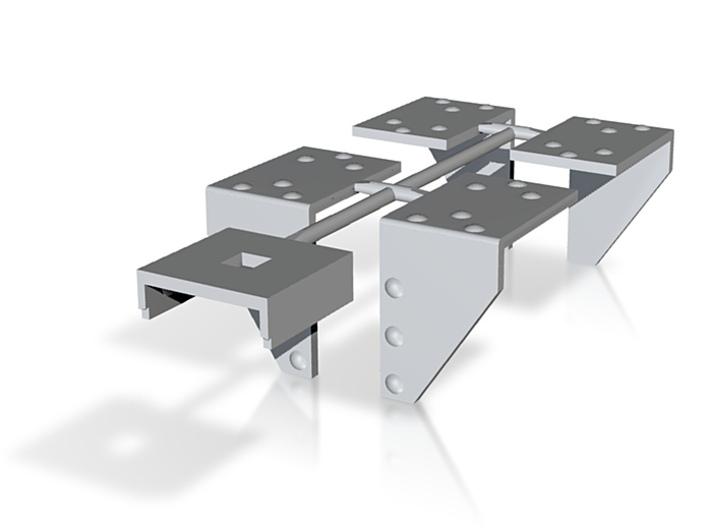 Knotenbleche Winkel Druck (repariert) 3d printed