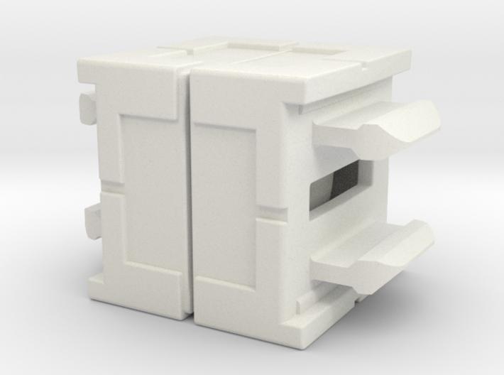 Rokenbok Axle Block 3d printed