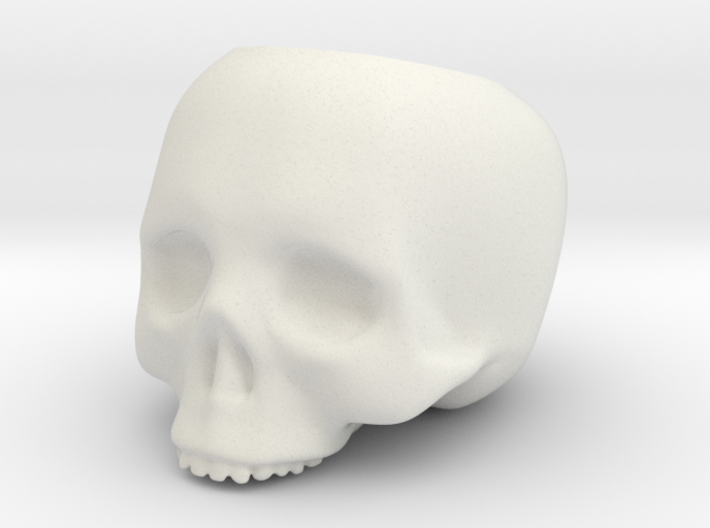 Skull Pot V3 - H80MM 3d printed
