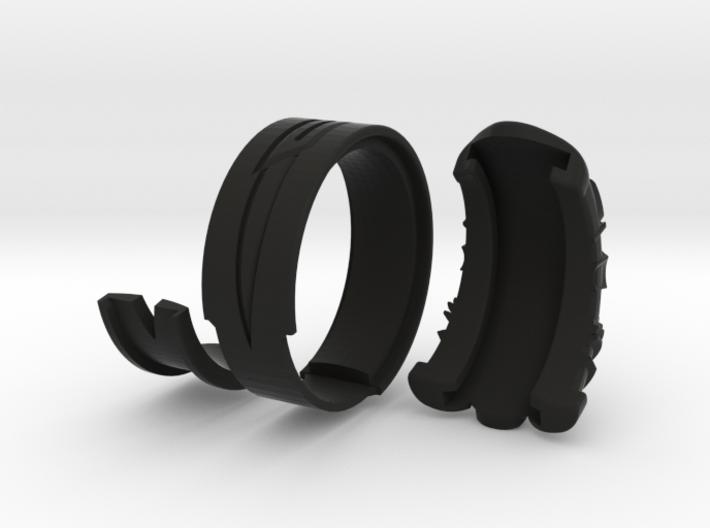 Vambrace Ring 7 3d printed