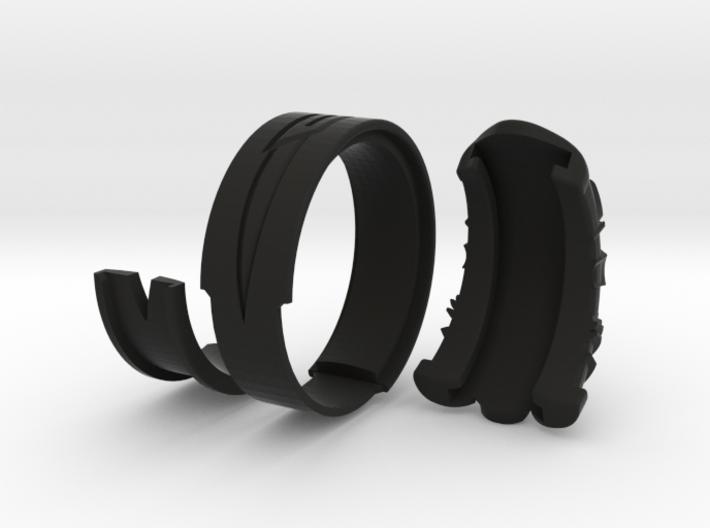Vambrace Ring 8.5 3d printed