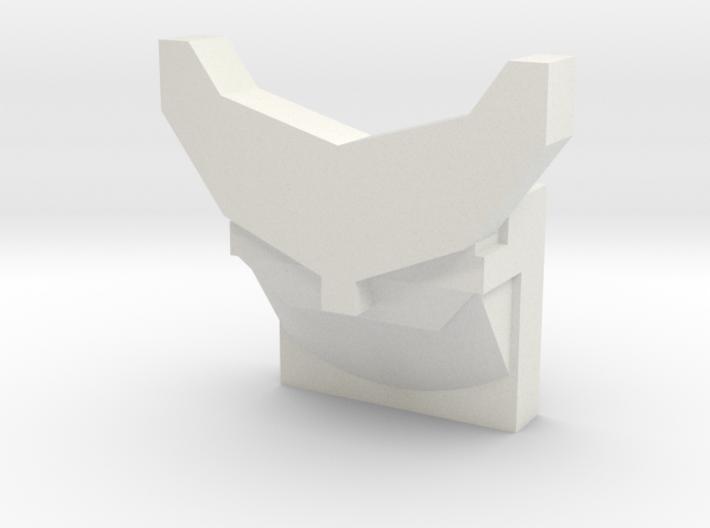 Back Fin/Spoiler 3d printed
