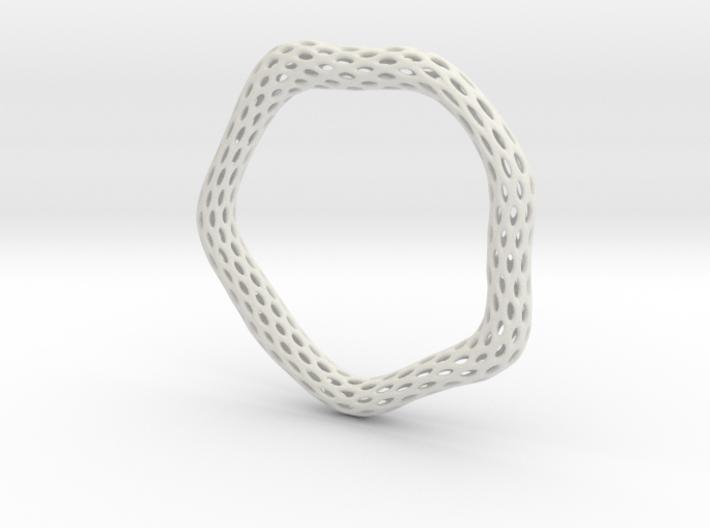 Irregular Bracelet (Size L) 3d printed