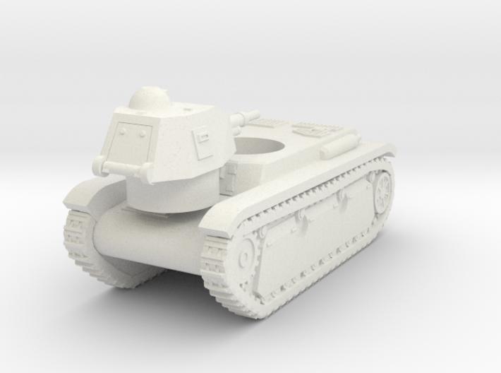Vehicle- Renault R40 Tank (1/87th) 3d printed