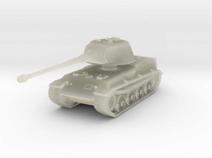Vehicle- Löwe Tank (1/87th) 3d printed