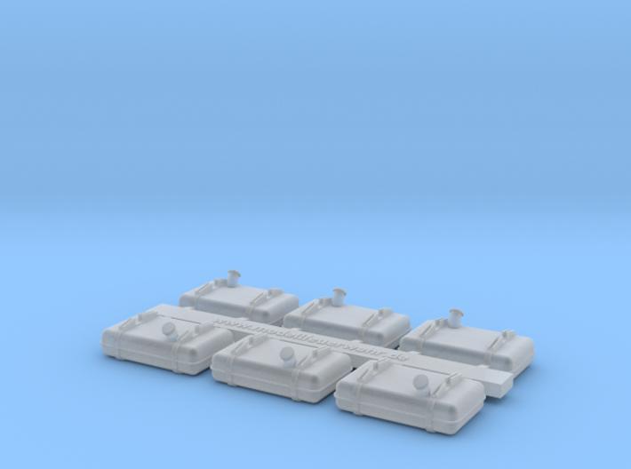 Tank B1000 1 87 Complete 3d printed