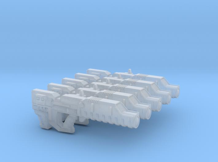 Gun 011a (ion Laser) 3d printed