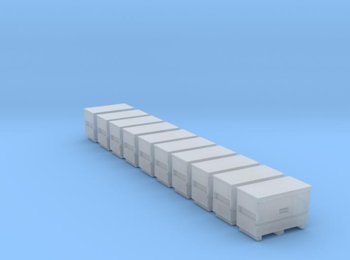 10 N Scale Knack Toolboxes FUD Only 3d printed