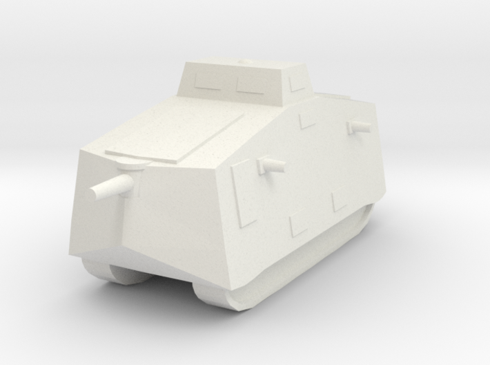 A7V 6mm scale 3d printed