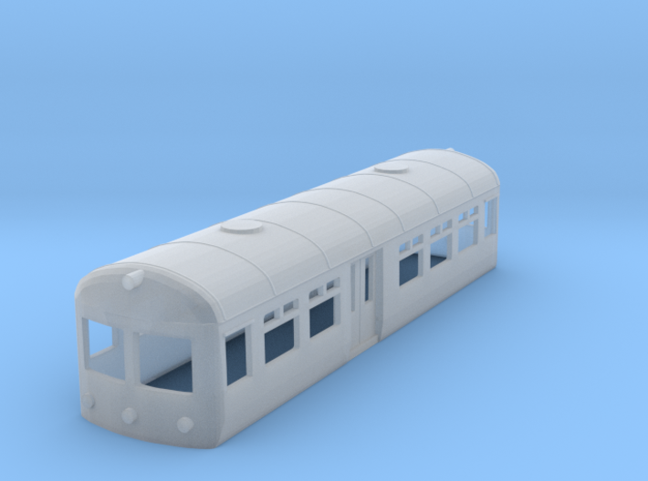 British Railways Wickham 'Elliot' (N Gauge) 3d printed