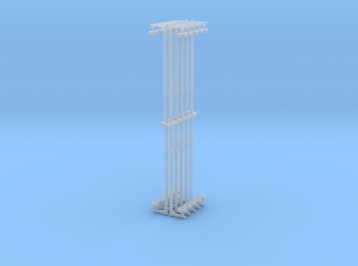 LMS Concrete Platform Lamp Single N Gauge 2mm:1ft 3d printed