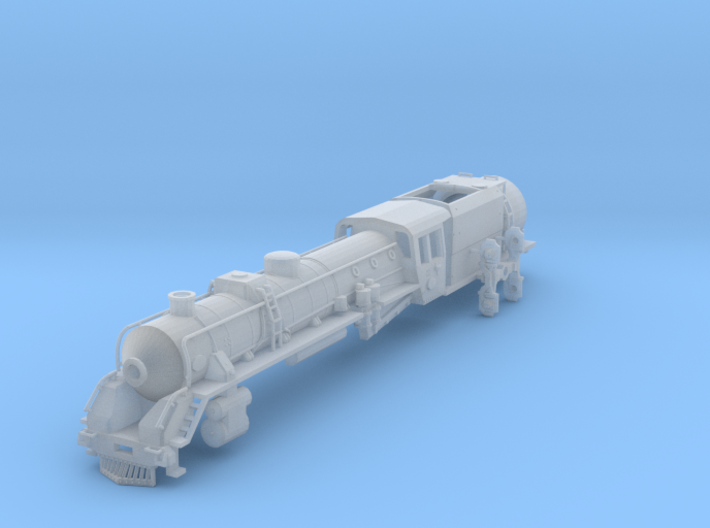 NZ120 NZR J CLASS (Partial Streamlining Removed) 3d printed