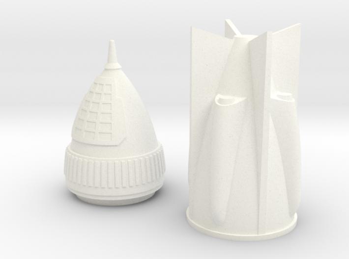 Rocket 6 v2 3d printed